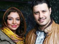 فاصله سنی جواد عزتی و همسرش